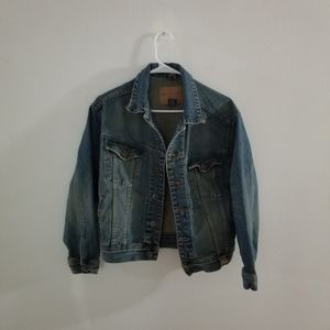 Distressed Abercrombie Denim Jacket